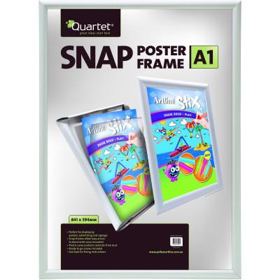 Quartet Instant Poster Frames A1 25mm Aluminium